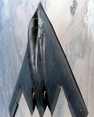 lockheed sr-71 blackbird(0.0), rocket powered aircraft(0.0), lockheed martin f-35 lightning ii(0.0), lockheed f-117 nighthawk(0.0), fighter aircraft(0.0), aviation(1.0), military aircraft(1.0), airplane(1.0), wing(1.0), vehicle(1.0), northrop grumman b-2 spirit(1.0), jet aircraft(1.0), air force(1.0),