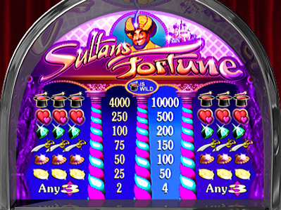 free Sultan's Fortune free spins feature