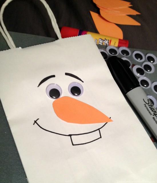 bolsas de Olaf