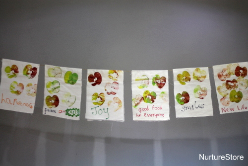 Gratitude Prayer Flags (Photo from Nurture Store)