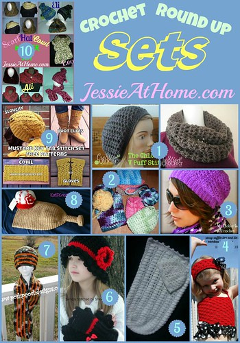 Crochet Sets Round Up from Jessie At Home