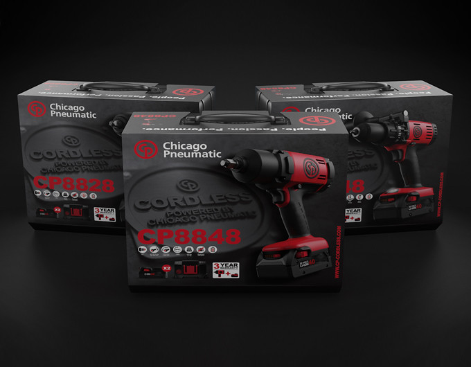 CP Cordless tools packaging sleeve