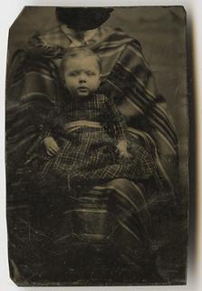 Nice Hidden Mother Tintype
