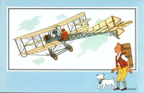 36 biplano dei fratelli Dufaux 1910 Svizzera