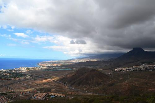 South Tenerife from Montaña Guaza, Tenerife