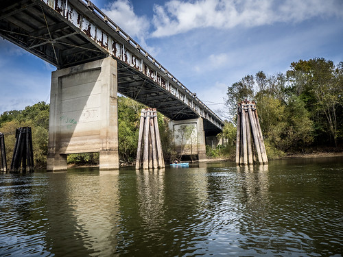 Savannah River from Stokes Bluff with LCU Nov 7, 2014, 4-18 PM Nov 8, 2014, 11-065