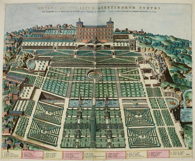 Dupérac,_Étienne_-_Gardens_at_Villa_d'Este_-_1560-1575