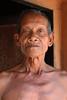 Traditional man in the village of Regintal, Orissa