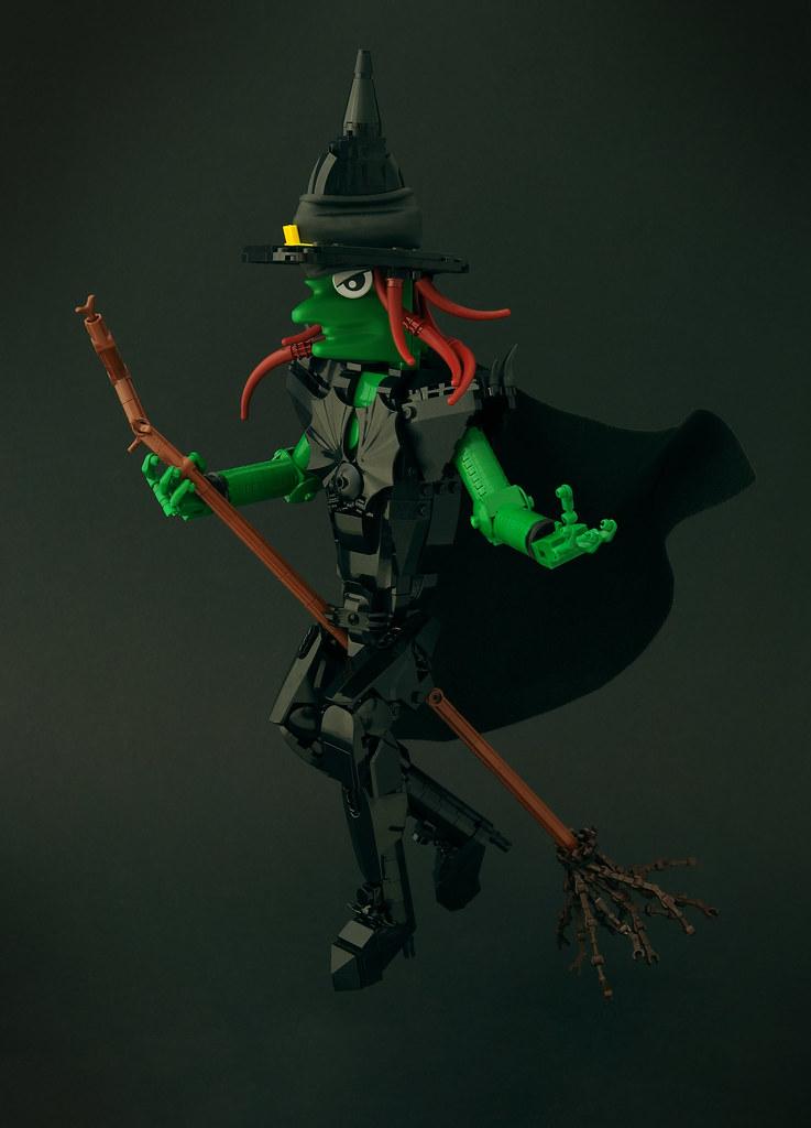 Black Witch (custom built Lego model)