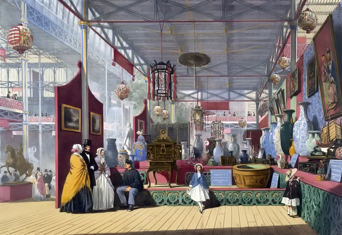 The China exhibit - Dickinson's comprehensive pictures of the Great Exhibition of 1851