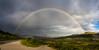 Doppelregenbogen im Rondane Nationalpark. Norwegen.