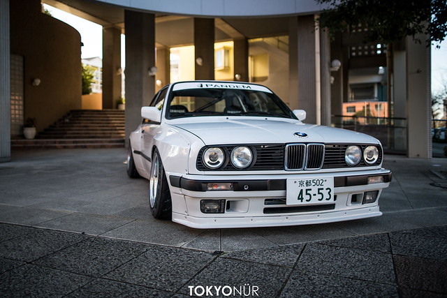 World Wide Old Bimmer // Pancross Pandem BMW E30