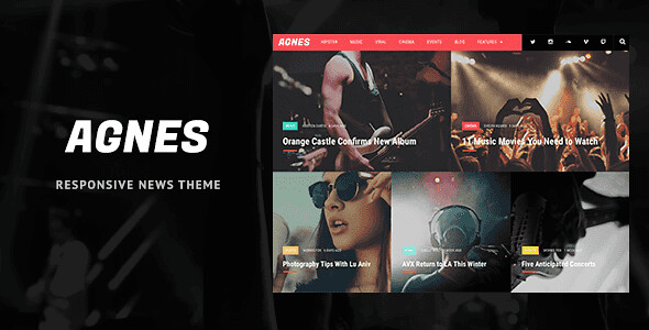 Agnes WordPress Theme free download