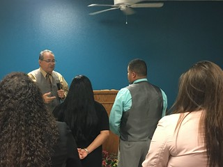 Revival with pastor Pena