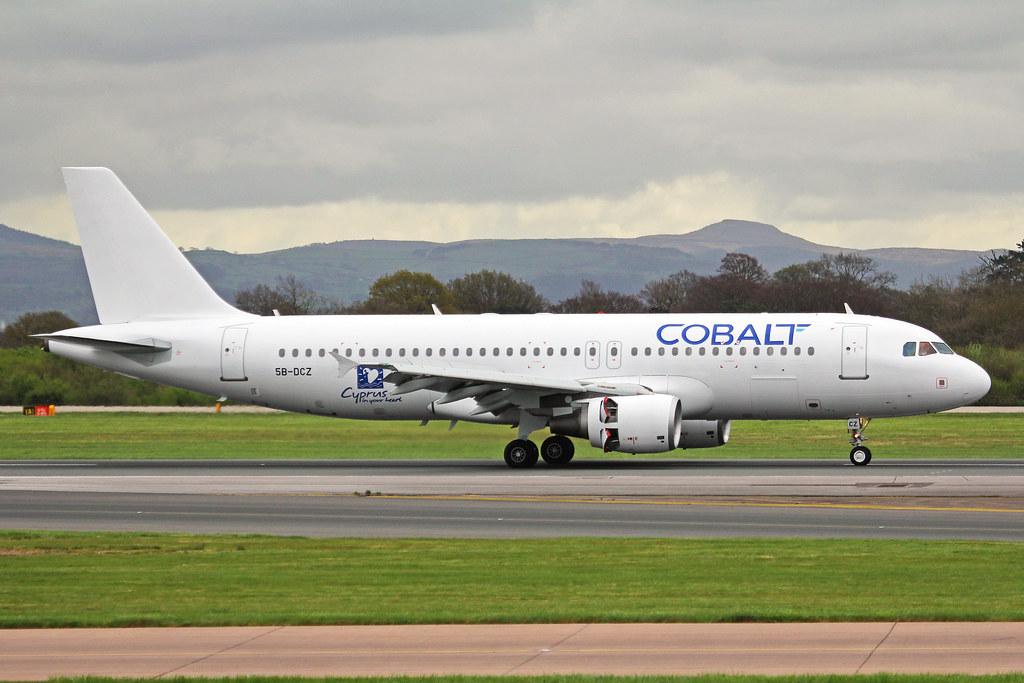 5B-DCZ - A320 - Cobalt Air
