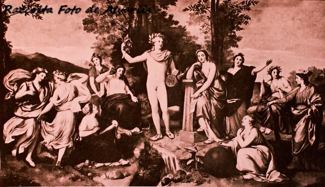 1761 2005  villa Albani e, Anton Raphael Mengs, Parnaso affresco