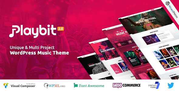 Playbit WordPress Theme free download