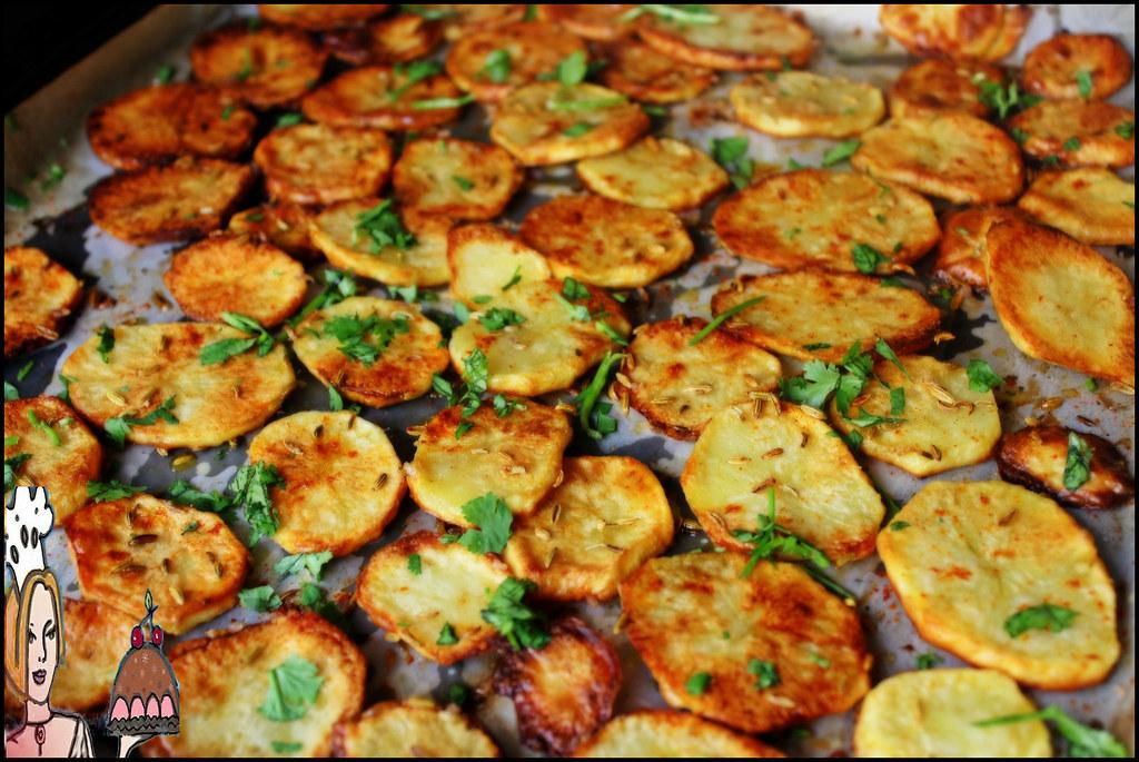 chips assadas