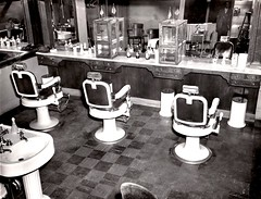 Father Divine's Lorraine Hotel - Barber Shop