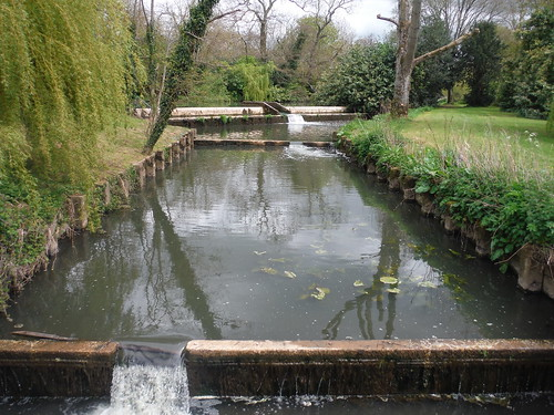 Millstream Outflow, from Pikes Bridge, Barcombe Mills