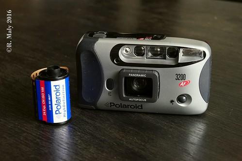 Продам фотоаппарат, polaroid 3000AF (плёночный)