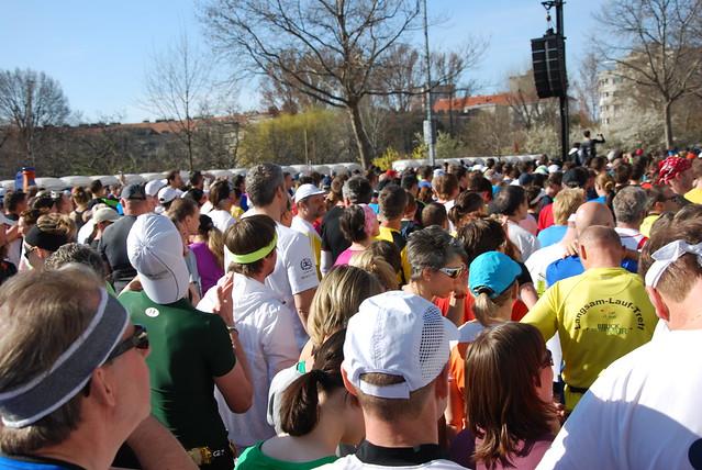 Wien Marathon Start 2013